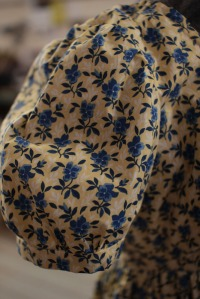 Empire Dress (sleeve close up)