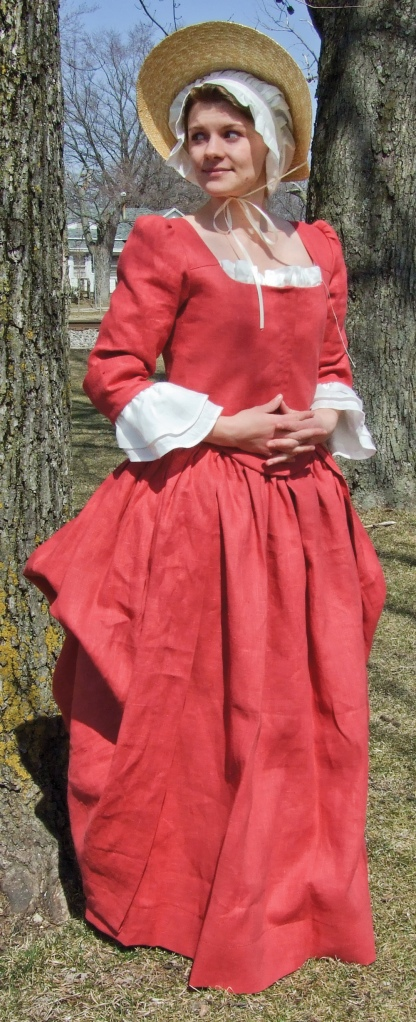 Coral Linen You can order this Linen Gown here.